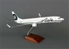 Alaska Airlines B737-900ER 1/100 W/WOOD Stand & Gear