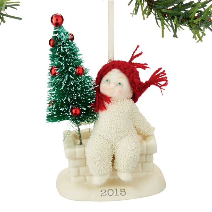 Tree Top - Dated 2015 Ornament