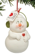 I Heart Dad - Ornament