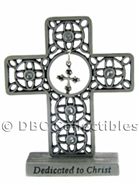 Dedicated To Christ Standing Cross