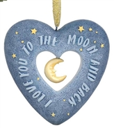 Love You To The Moon And Back - Ornament