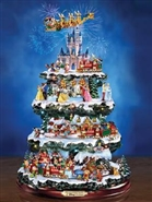 Disney Through The Years Christmas Tree
