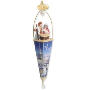 Finial Holy Family Ornament