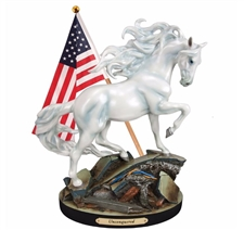 Trail of Painted Ponies - Unconquered Figurine