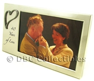 40 Years Of Love Photo Frame