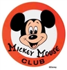 Mickey Mouse Club Logo Plaque