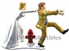 Firefighter Oh No You Don't - Wedding Cake topper