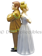 Firefighter The Tiff - Wedding Cake topper