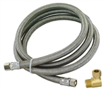 Stainless Dishwasher Connector Hose 48365