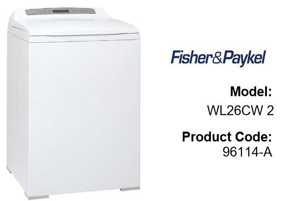 Model # WL26CW2 96114-A