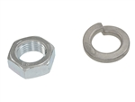 1964-72 Chevelle Power Pitman Arm Nut & Washer