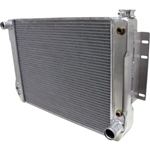 1967-69 Camaro Aluminum Radiator Direct Fit - A/T Cooler Smooth Tanks