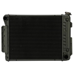 1967-69 Camaro Radiator Direct Fit - A/T Copper 3 row radiator
