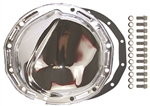 Chrome Steel Rear End Differential Cover GM 12 Bolt KIT