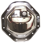 Chrome Steel Rear End Differential Cover Ram 9.25""