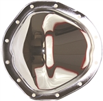Chrome Steel Rear End Differential Cover GM 12 Bolt