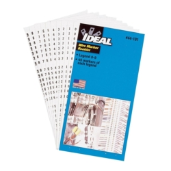 Wire Marker Book by Ideal 44-103