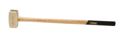 "10 lb. Brass Hammer with 32"""" Wood Handle"