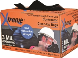 42GAL CONTRACTOR BAG 3MIL BLK