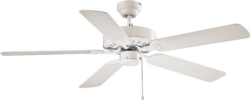 Boston Harbor 52-CASA-ES-EN-WH Dual Mount Ceiling Fan
