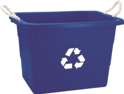 United Solutions TU0105 Rectangular Recycling Tub