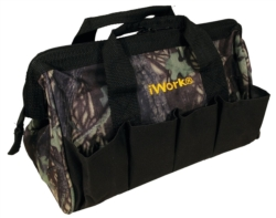 TOOL BAG CAMO 10 POCKET 12X7