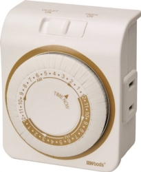 Woods 50001 Indoor Mechanical Timer
