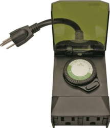 Woods 50011 Outdoor Mechanical Timer