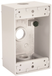 Hubbell 5320-6 Outlet Box