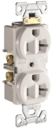 Arrow Hart CR20W Grounded Duplex Receptacle
