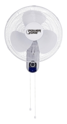 Homebasix HF-40W Oscillating Wall Mount Fan