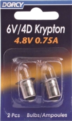 Dorcy 411663 Replacement Krypton Lamp