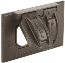Bell Raco 5180-7 2-Hole Weatherproof Device Cover
