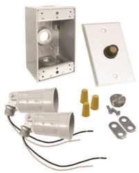 Bell Weatherproof 5883-6 Dusk To Dawn Floodlight Kits