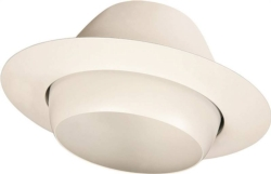 Powerzone T513WH-3L Eyeball Recessed Light Trim