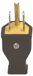 Cooper SA399 Grounded Straight Electrical Plug
