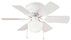 Boston Harbor CF-78108 Hugger Low Profile Ceiling Fan