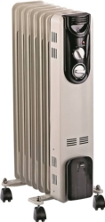 Homebasix CYB20-7 Oil Filled Radiator Electric Heater