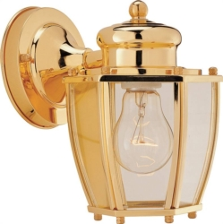 Boston Harbor HV-66961-PB Lantern Porch Light Fixture