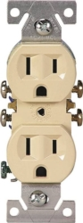 Cooper 270V Grounded  Duplex Receptacle