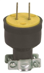 Cooper H-16 Non-Grounded  Round Electrical Plug
