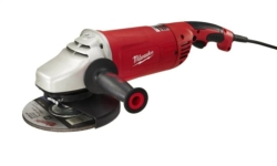 Milwaukee 6088-30 Large Corded Angle Grinder with Lock On Switch
