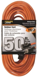 Powerzone OR501630 SJTW Round Extension Cord