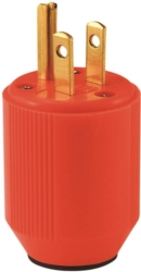 Cooper 3867-4RN High Visibility Straight Electrical Plug