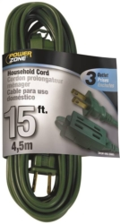 Powerzone OR780615 SPT-2 Extension Cord