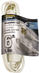 Powerzone OR660606 SPT-2 Extension Cord