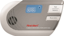 First Alert GCO1CN Plug-In Combination Gas Detector