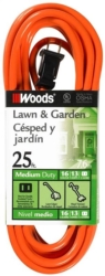 Woods 0722 SJTW Outdoor Extension Cord