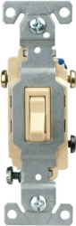 Cooper C1303-7V Framed Grounded Toggle Switch