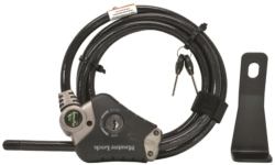 LOCK COOLER CABLE W/BRACKET